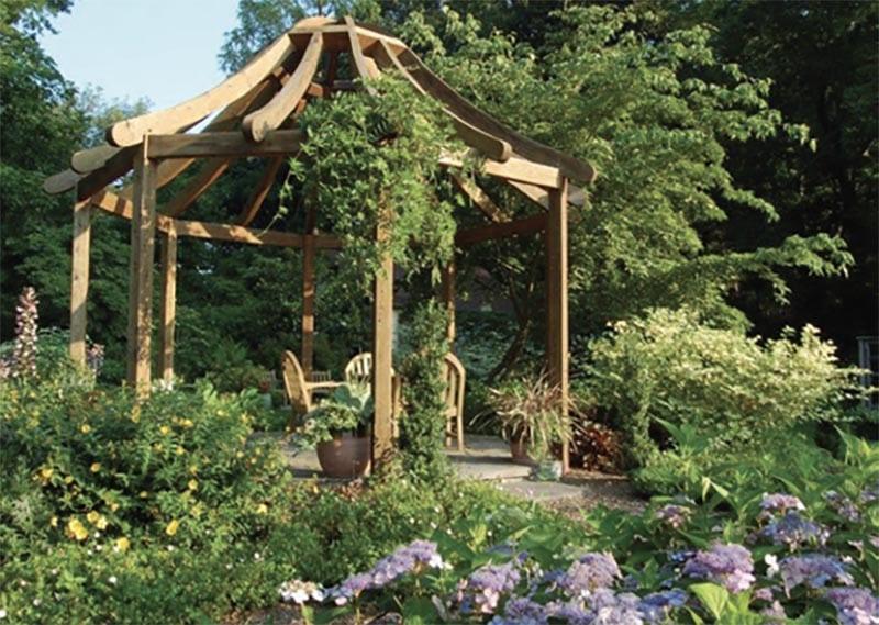 Rutgers Gardens Gazebo