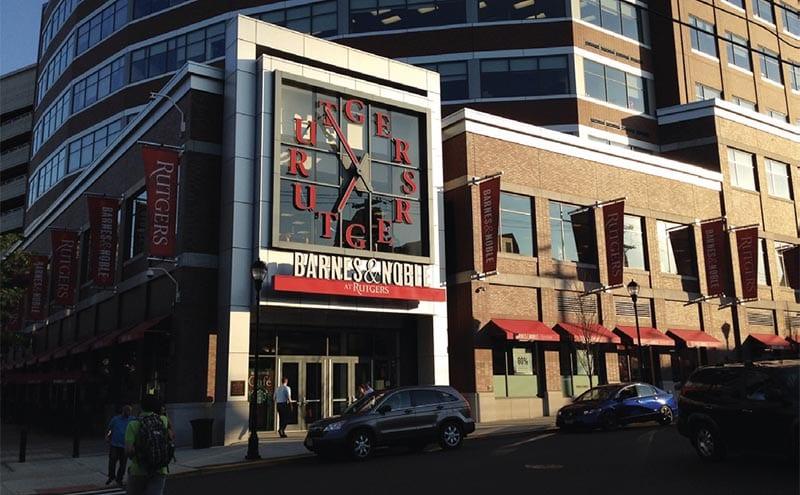 Rutgers bookstore