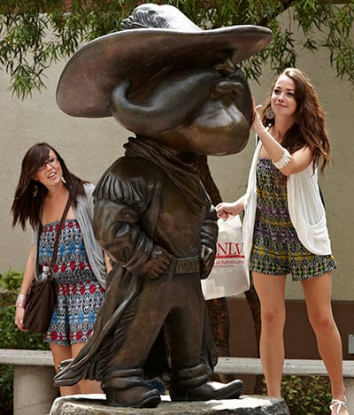 Hey Reb! Statue