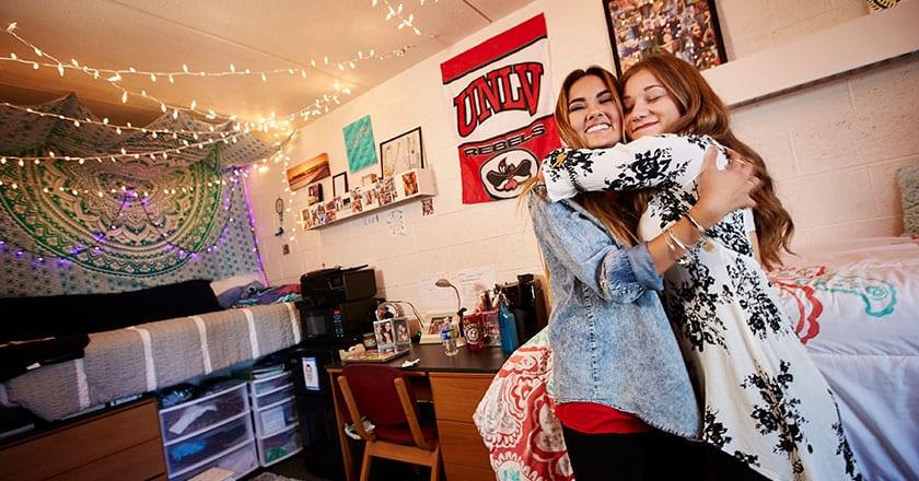 Dorm Room at UNLV